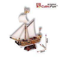 3D PUZZLE YACHT MARY schooner