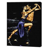 Dans înflăcărat, 40х50 cm, pictură pe numere Articol: GX37869