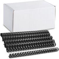 ARGO Пружина пластиковая ARGO A4/22мм, 50 штук, черная