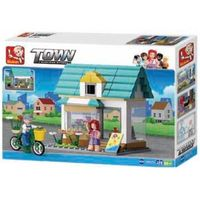 Sluban constructor  Town - Queenies Flower Shop