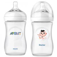 Philips Avent бутылочка пластиковая Natural Doctor, 2*260мл
