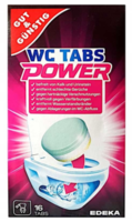 Tablete de curățare a toaletelor Gut and Gunstig WC Tabs Power 16 buc., Germania