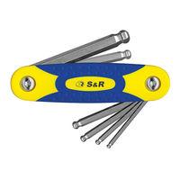Набор шестигранных ключей 3-10 мм S&R