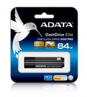 Flash Drive ADATA S102 Pro, Titanium-Gray 64Gb
