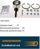 W413044 Подшипник ступицы передний 80 86- 90 84- A4 94- A6 97- SKODA SUPERB 01- VW PASSAT 96-