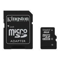 Карта памяти MicroSD Kingston 8GB microSDHC Class4