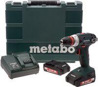 Аккумуляторный шуруповерт Metabo BS18 Workshop