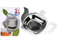 Подносик для чайных пакетиков EH 13X10X9.5cm, нерж сталь