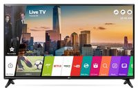 """43"""" LED TV LG 43LJ594V, Black (1920x1080 FHD, SMART TV, PMI 500Hz, DVB-T2/T/C/S2) (43"""", Black, IPS Full HD, PMI 500Hz, SMART TV (WebOS 3.5), 2 HDMI, 1 USB (foto, audio, video), DVB-T2/C/S2, OSD Language: ENG, RU, RO, Speakers 2x5W, 8Kg, VESA 200x200 )"""