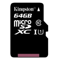 Kingston 64GB microSDXC Class10 UHS-I with SD adapter