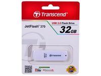 Flash Drive Transcend JetFlash 370 White 32Gb