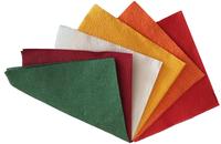 Салфетки столовые 100шт. 30*30 (цветные)