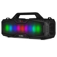 SVEN PS-480BL 24W, Black Bluetooth Portable Speaker