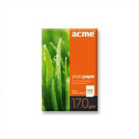 ACME Photo Paper (Value pack) A6 (10x15cm) 170 g/m2 100 pack Glossy