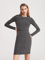 Платье RESERVED Черный/Серый