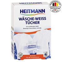 Servetele pentru inalbire rufe Albe, HEITMANN, 20 buc