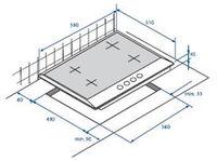 Встраиваемая  газовая панель Beko HIMG64225SX