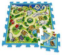 Stamp Игровой коврик карта города