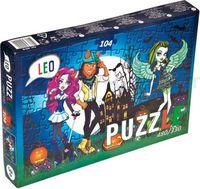 "Strateg Leo 200-6 Паззлы ""Monster High "" (104 дет.)"
