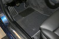 BMW 5 (F10) 2010-2016. Коврики для салона - текстильные. Текстиль.