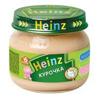 Heinz пюрe курочка 6+мес. 80г
