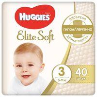 Подгузники Huggies Elite Soft 3 (5-9 кг) 40 шт