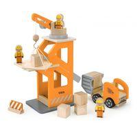 Crane Lift w/Dumper
