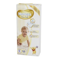 Scutece Huggies Elite Soft Mega  5  (12-22 kg)  56 buc.
