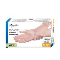 Перчатки VINYL IDEAL LIGHT, размер M, 100шт, HYGONORM, FM