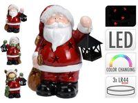 """Сувенир """"Дед мороз/ олень/ снеговик"""" LED с фонарем, H23сm"""