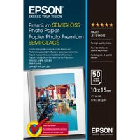 EPSON Premium Semigloss Photo Paper, A4