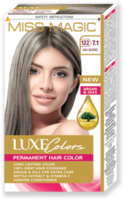 Vopsea p/u păr, SOLVEX Miss Magic Luxe Colors, 108 ml., 122 (7.1) - Blond cenușiu