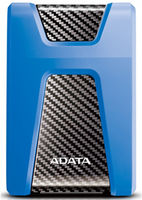 "2.0TB (USB3.1) 2.5"" ADATA HD650 Anti-Shock External Hard Drive, Blue (AHD650-2TU31-CBL)"