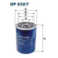 FILTRON OP632/7, Масляный фильтр