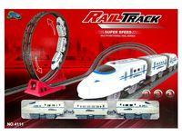 """Железная дорога и поезд """"CRH"""" 4111"""