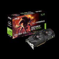 ASUS CERBERUS-GTX1070TI-A8G, GeForce GTX1070Ti 8GB GDDR5, 256-bit