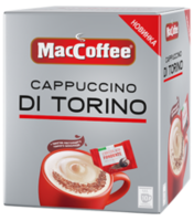 MacCoffee 3in1 Cappuccino di Torino cu ciocolata (10plicuri)