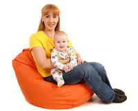 Кресло-мешок Груша, ткань-экокожа (750*750) в ассортименте