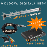 MOLDOVA DIGITALA SET-1