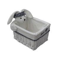 купить Корзина с кроликом 280x220x160 мм, белый в Кишинёве