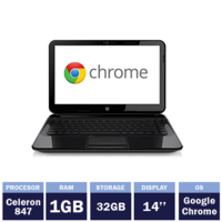 Ноутбук HP Pavilion 14-c001sa Chromebook (134809)(14"