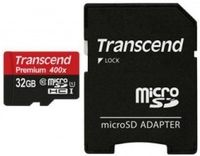 32GB MicroSD Card + SD Adapter