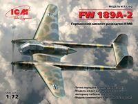 72292 FW 189A-2, Немецкий самолет-разведчик 2 МВ