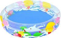 Bestway бассейн Морская жизнь, 122 см * h 20