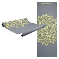 купить Коврик для йоги c сумочкой inSPORTline 172*61*0.3 cm 11729 (3058) Grey в Кишинёве