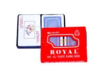 Карты игральные Royal, пластик
