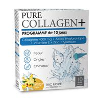 Collagen Pure 4000 +Acid Hyaluronic+E+Zc+Se N10*15ml Eric Favre