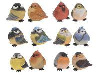 Птица декоративная H9cm, 11.5Х7X9cm, 12 видов