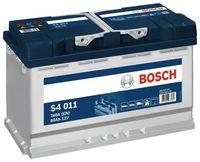 Bosch S4 12V 80Ah 740EN 315x175x190 -/+