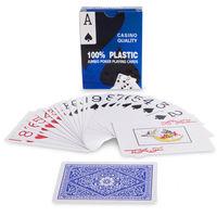 cumpără Carti de joc plastic IG-8028 Lucky Gold (54buc; 0,3mm)  (3835) în Chișinău